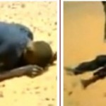 Shocking video: See what happens to some Nigerians who try to cross to Europe via Sahara desert