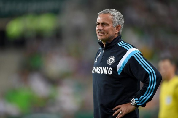 Jose Mourinho Says Costa Will Play at Sporting. Image: Chelsea via Getty.