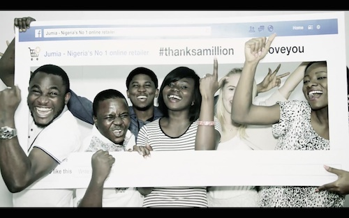 Jumia celebrates 1 Million fans (Cover photo)