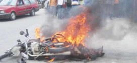 Mob Sets Two Ablaze Over Alleged Okada Theft In Nasarawa