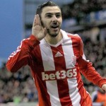Assaidi Back to Stoke on Loan, Fills In for Injured Odemwingie