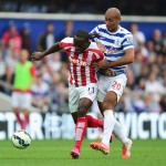 QPR 2-2 Stoke:  Kranjcar's Late Free-Kick Spoils Hughes' Return
