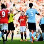 Wayne Rooney Received His Third Manchester United Career Red Card in a 2-1 Win Against West Ham on Saturday. Image: ManUtd Via Getty.