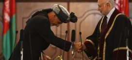 Ashraf Ghani officially gets sworn in as Afghan president