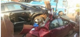 Photos: Multiple accident at Trans Ekulu this evening