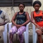 Photo: Two Nigerian s*x slaves rescued in Burkina Faso