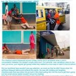 Angry Babe Drags Boyfriend On The Floor In Yaba