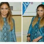 Paparazzi delight, Jennifer Lopez stuns in snakeskin printed dress