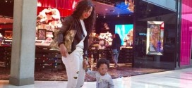Obagoal's Baby Mama, Abigail Shares Sweet Collage Showing Her Best Moments With Obafemi and Their Son – Photos
