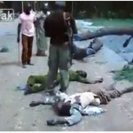 Graphic video of Boko Haram members killed after attack in Konduga