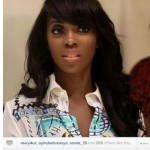 Teebillzz loves up Tiwa Savage on instagram, Tiwa responds