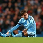 David Silva Has Been ruled Out for At Least Three Weeks With a Ligament Injury. Image: MCFC via Getty.