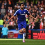 Diego Costa Is Joint Top Scorer in the Premier League With Nine Goals. Image: Getty.