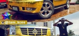 Bigger Boys!!! Fashion Icon, Kcee Acquires Customized 2014 CadillacEscalade Autombile