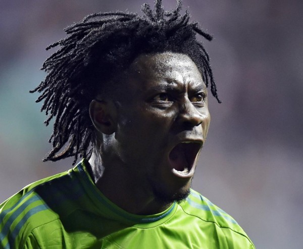 Obafemi Martins Says He Feels At Home With Sounders. Image: AFP.