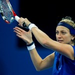 Tennis: Wozniacki Out of China Open, Kvitova Too Good for Shuai