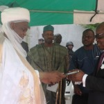 Sultan In Asaba For Uduaghan's 60th Birthday Lecture, Preaches Unity, Dialogue