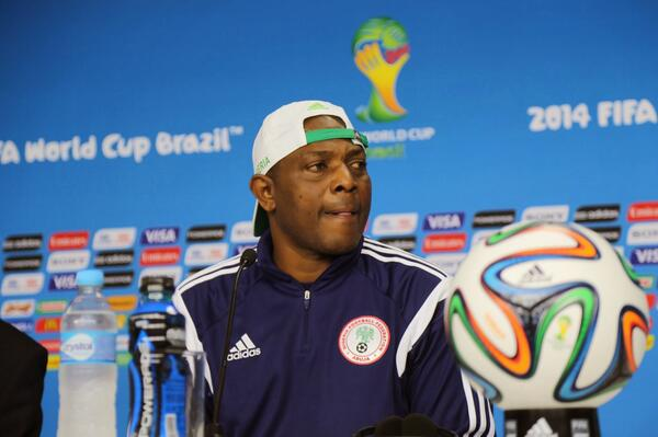 Keshi Led Nigeria to the Second Round of this Year's Fifa World Cup. Image: Getty.