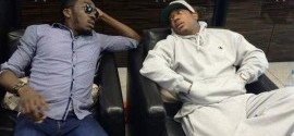 Photos: Ja Rule, Ashanti arrive Nigeria for Bovi's comedy show