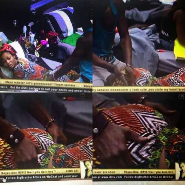 Big brother africa 2013 nude scenes
