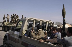 Yemen Shia rebels capture a key city along the Sanaa-Aden highway