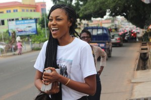 Yvonne Nelson all excited for the American premiere of 'Folly'