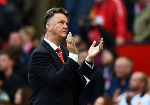 Louis van Gaal Wants Manchester United to Take Their Chances at Manchester City. Image: Man Utd via Getty.