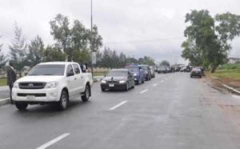 A TYPICAL CONVOY IN NIGERIA