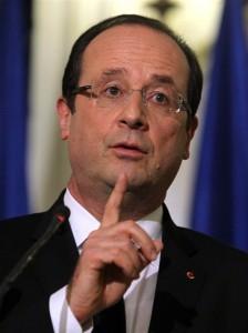 Francois Hollande, President of France
