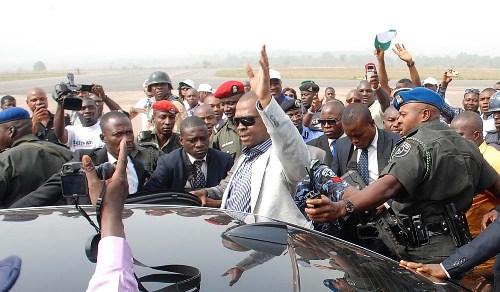 GOV  CHIME RETURNS TO ENUGU