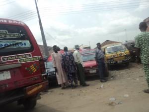 A Motor Park in Ogun State