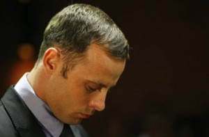 Oscar Pistorius in court during his bail hearing