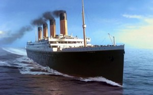 A rendering of Titanic II