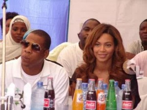 Beyonce & Jay Z in Nigeria