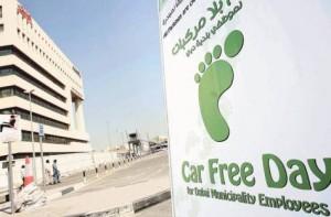 car free day Dubai