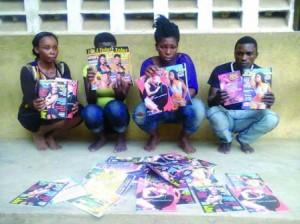 Lagos Taskforce Arrests Sellers Of Adult Materials