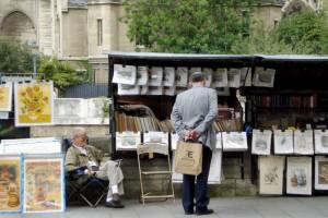 LITERARY HAUNTS, PARIS
