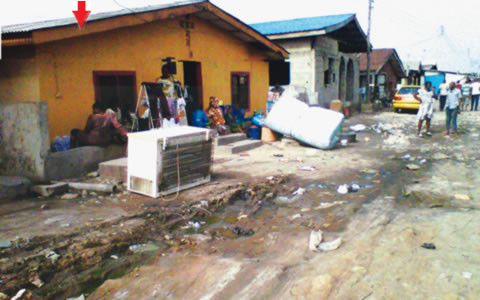 One-of-the-houses-arrowed-where-some-suspected-Boko-Haram-members-were-arrested-by-soldiers-and-men-of-the-State-Security-Service-at-Aromire-Street-Ijora-Lagos-480x300
