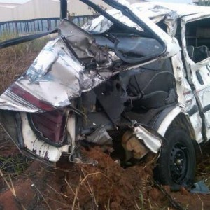 file: an accident scene