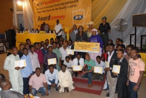 MTN Gives N47.6bn Worth Of Scholarship To Science&Technology, Blind Students
