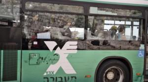 segregated bus in Jerusalem