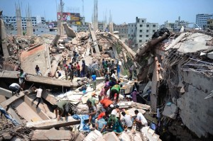 Workers Protest In Bangladesh Over Building Collapse Deaths