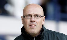 The New Leeds Manager, Brian McDermott.