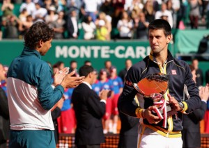 Djokovic and Nadal.