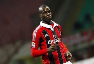 Balotelli in the Colours of AC Milan.