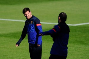 Leo Messi in Training