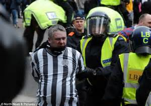 Newcastle Impose a Lifetime barn on Guilty Fans.