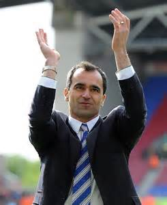 Wigan Manager, Roberto Martinez.