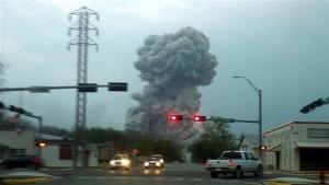 Texas xplosion