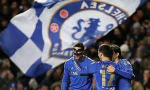 Fernando Torres in Action for Chelsea FC.